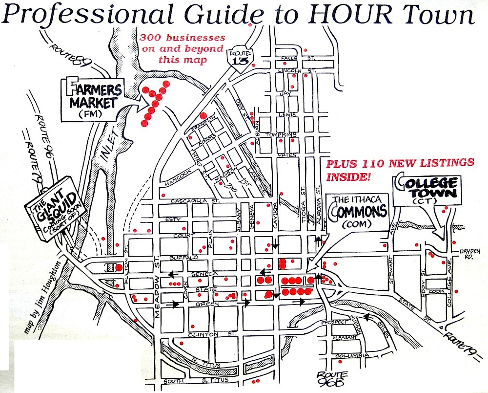 Map of HOUR Retailers
