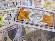 ithaca hours local currency