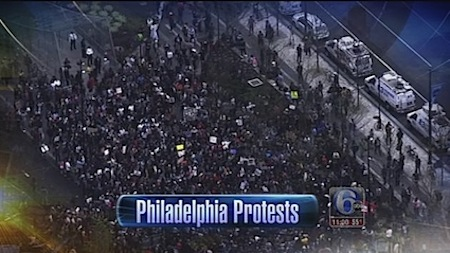 philadelphia protest march