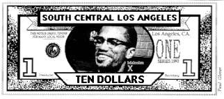 Malcolm X Money